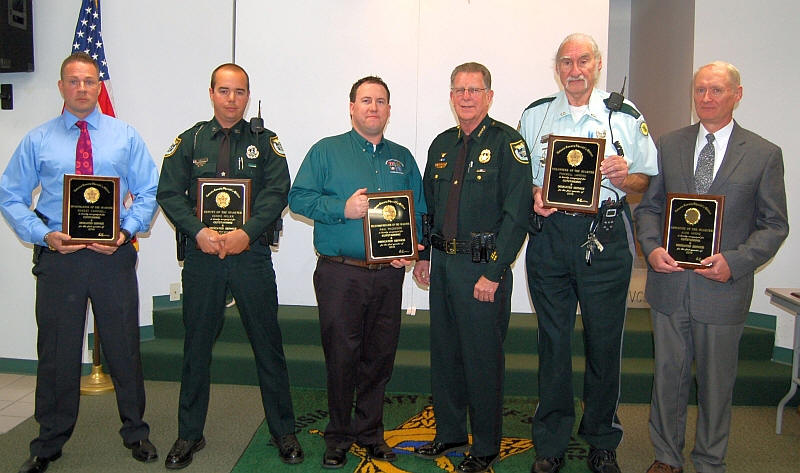 Sheriff's Office Employees Of The Quarter Honored